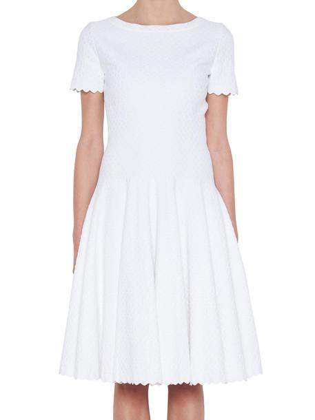 Alaia Dress in white