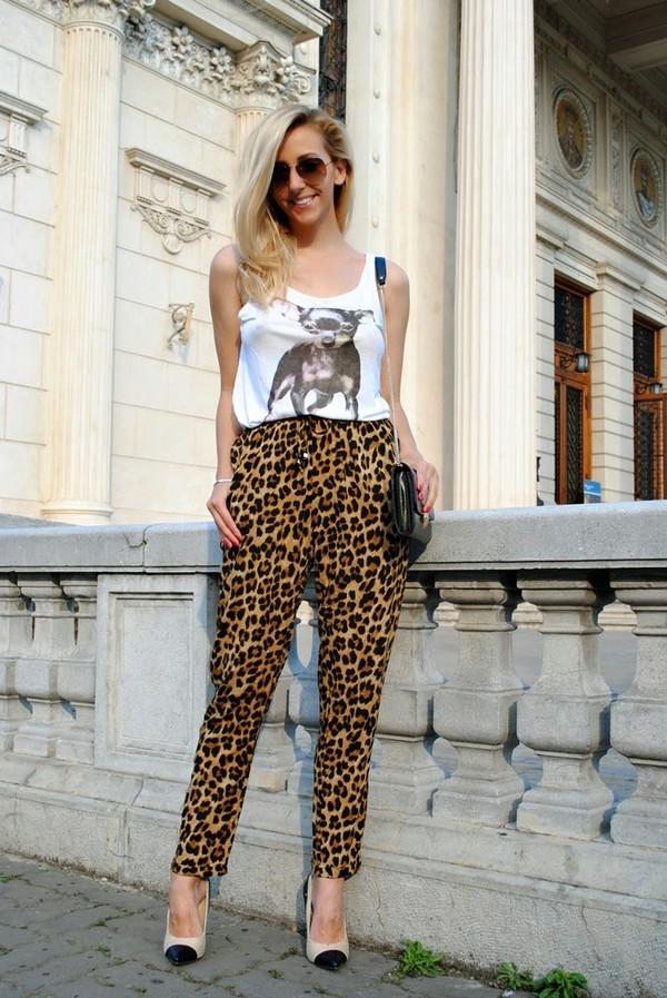 let's talk about fashion ! pants blouse bag shoes