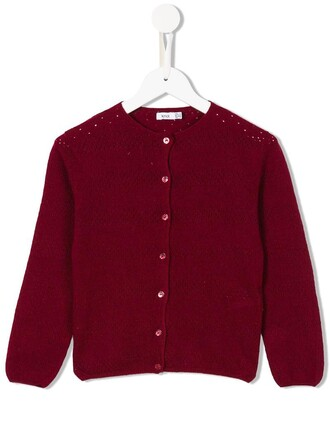 cardigan girl toddler red sweater