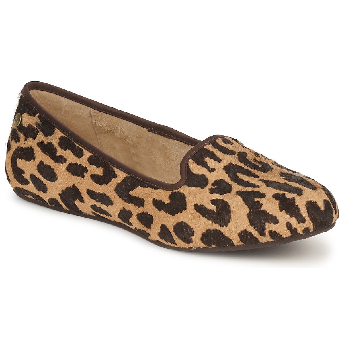 Slippers UGG ALLOWAY CHEETAH PRINT - Free next day delivery with Spartoo.co.uk ! - Shoes Women £ 94.99