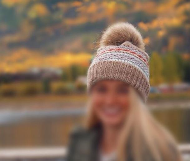 hat beanie pom pom beanie winter outfits
