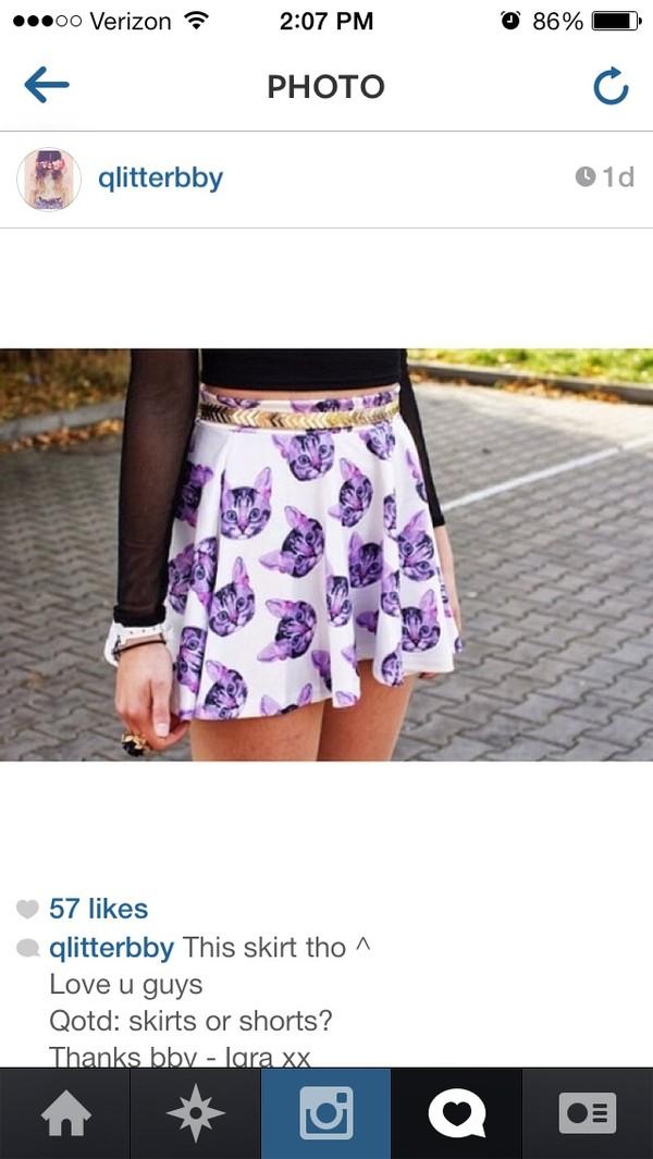 shorts skirt