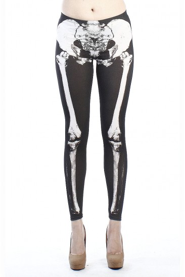 OMG SKELETON LEGGINGS