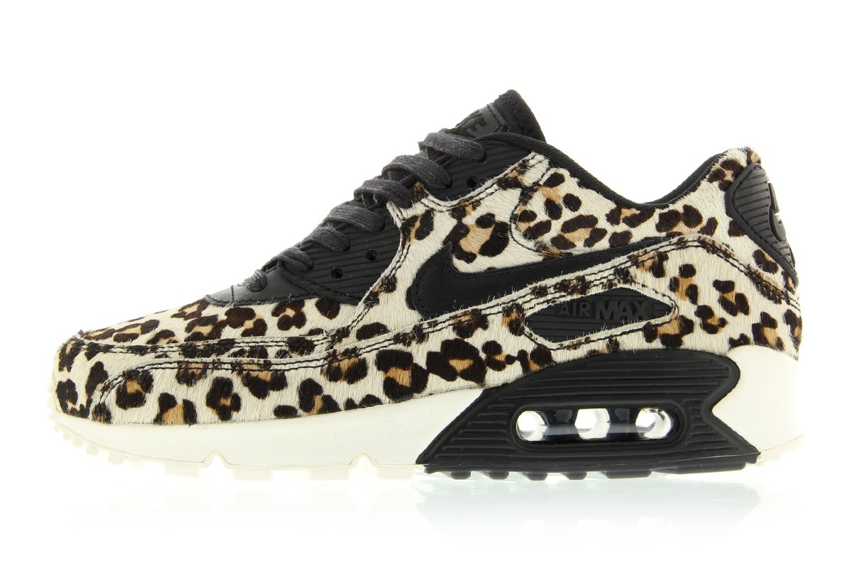 nike wmns air max 90 leopard print black gold