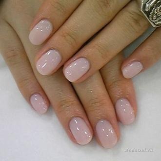 nail polish rose rosé shellac extreme glossy glossy baby pink nails pink