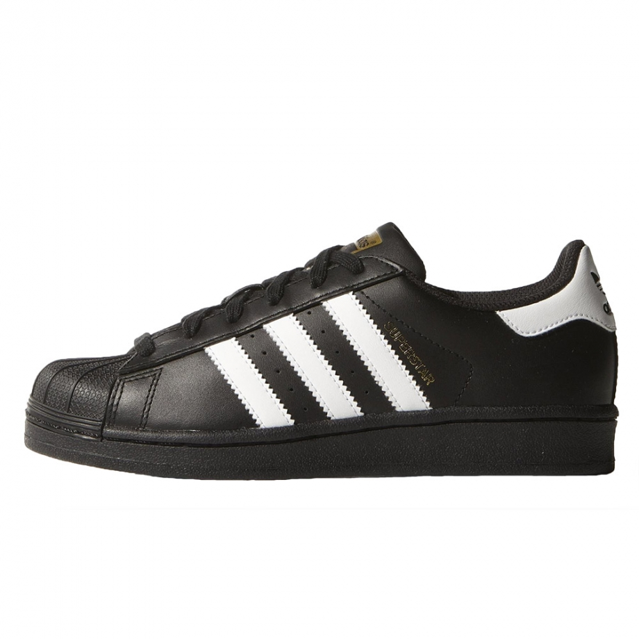 adidas Original-Superstar Foundation J Core Black   Ftwr White   Core ... d40fb2da637