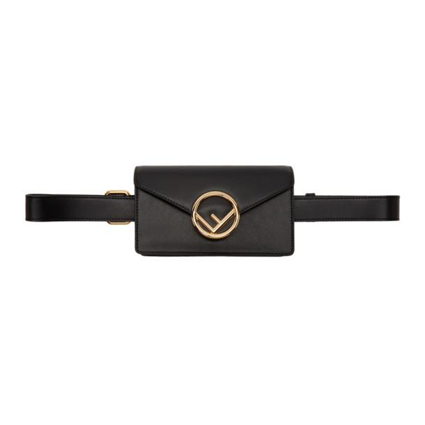Fendi Black 'F is Fendi' Belt Bag