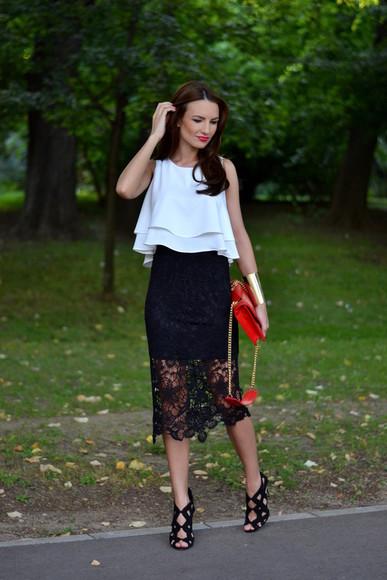 my silk fairytale skirt shoes bag jewels top