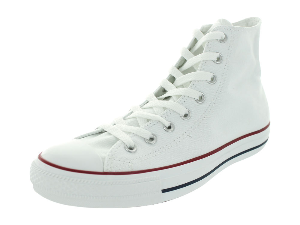Converse All Star Chuck Taylor High Optical White Canvas Shoes Men M7650 | eBay