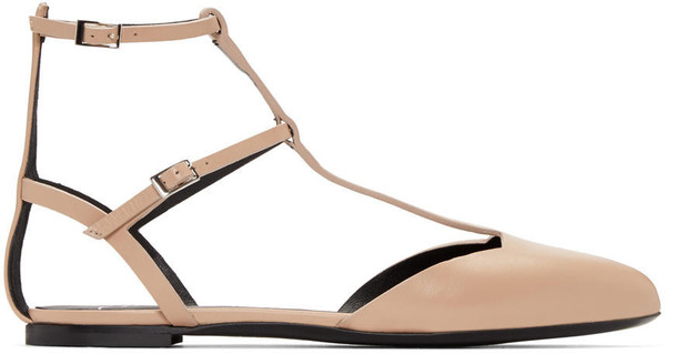 Giuseppe Zanotti flats beige shoes