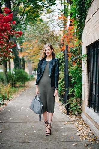 see jane blogger dress jacket shoes