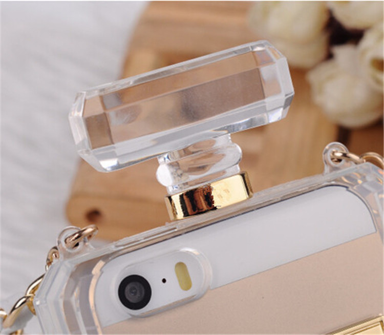 Luxury France Fashion Channel Perfume Bottle Case For iPhone 5c 5 5s 4 4s 6 and 6 Plus for Samsung Galaxy S3 in van op Aliexpress.com