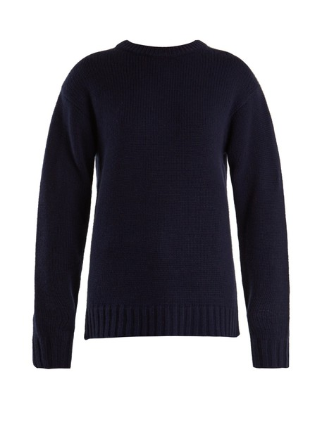 sweater wool navy