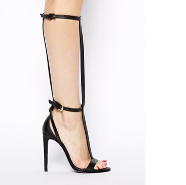 shoes river island river island shoes black sandals black heels sandals strappy sandals strappy black heels