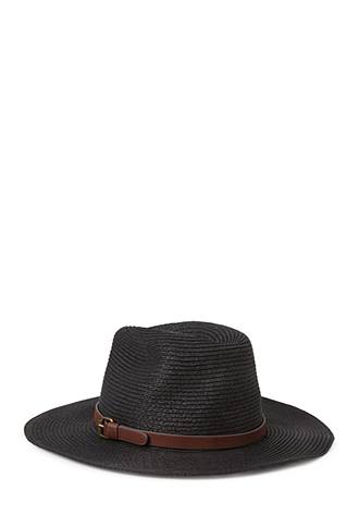 Chic Straw Fedora | FOREVER21 - 2000087941