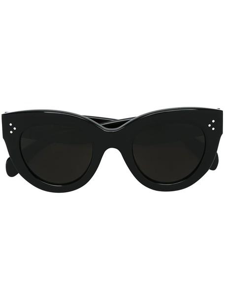 Céline Eyewear oversized women sunglasses oversized sunglasses black