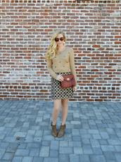 fash boulevard,blogger,skirt,pattern,jumper,jacquard