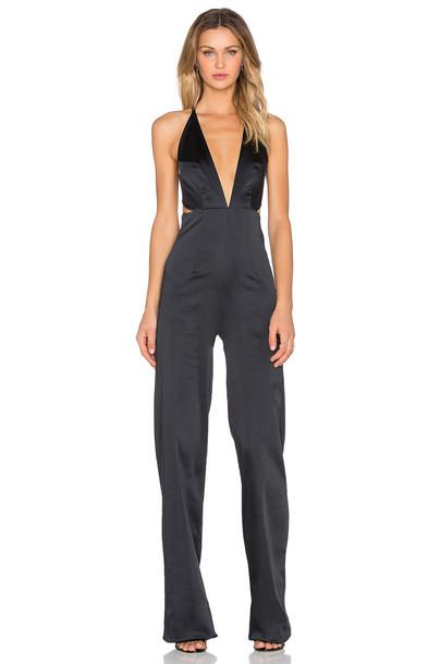 Solace London jumpsuit black