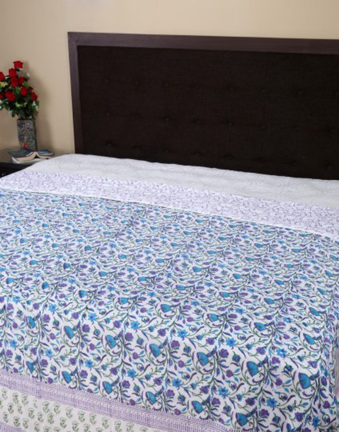 Home accessory blankets throw blanket indian kantha