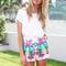 Sabo skirt  tropical bird shorts - $42.00