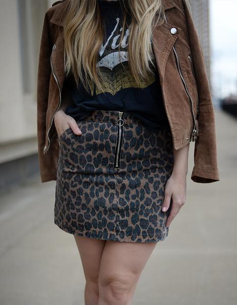 Walk On The Wild Side Skirt