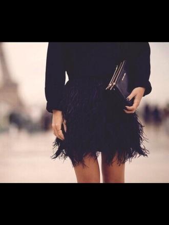 skirt feather exact