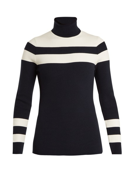Fusalp sweater knit dark blue dark blue