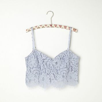 Free People Zinke Lace Crop Bralette on Wanelo