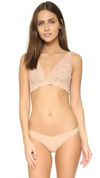 bra soft nude underwear
