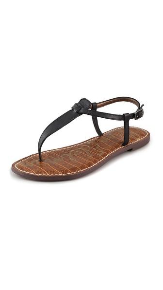 Sam Edelman Gigi T Strap Flat Sandals | SHOPBOP