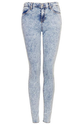 MOTO Acid Leigh Jeans - Denim Lightens Up   - New In  - Topshop