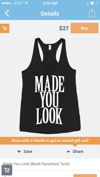 racerback shirt tank top black