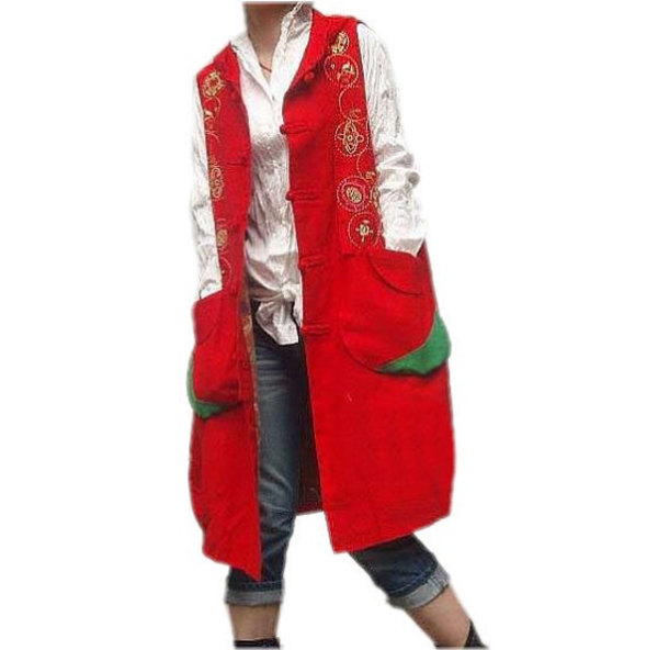 coat hooded vest