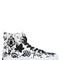 Embellished canvas high top sneakers