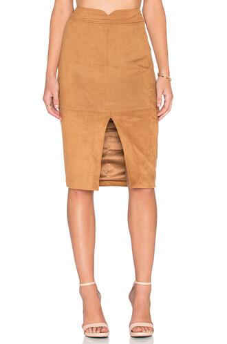 skirt midi skirt midi brown