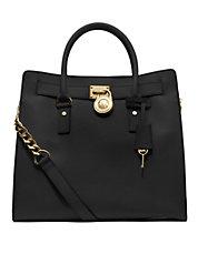 Handbags | Totes  | Hamilton Large Leather Tote Bag | Lord and Taylor