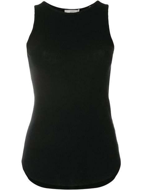 Vince tank top top women cotton black