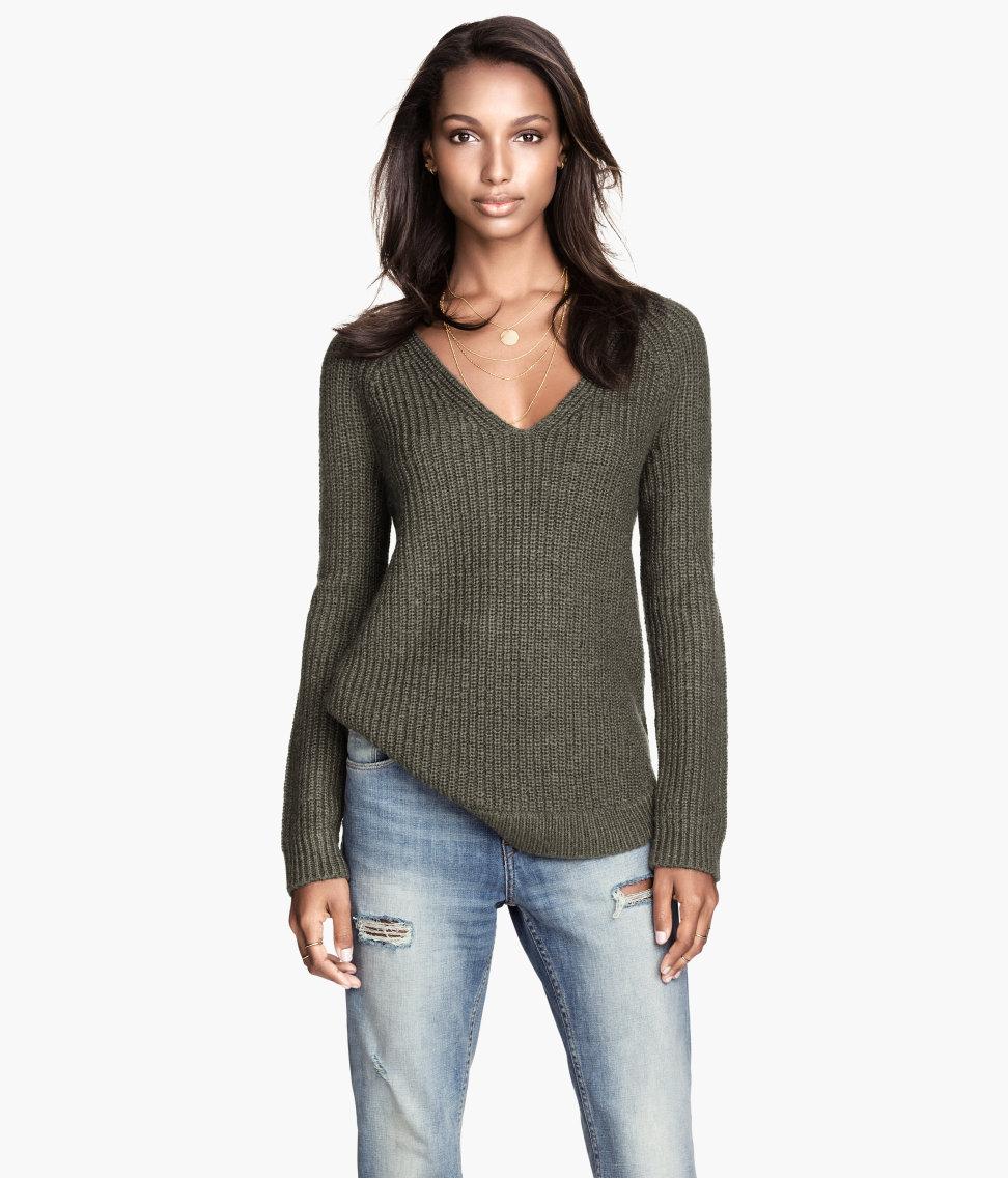 H&M Rib-knit Sweater $29.95