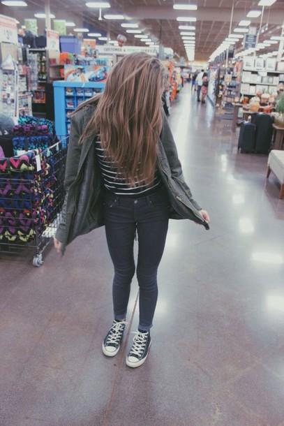 jacket jeans black jeans