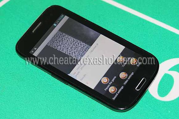 phone case poker analyzer poker cheating system