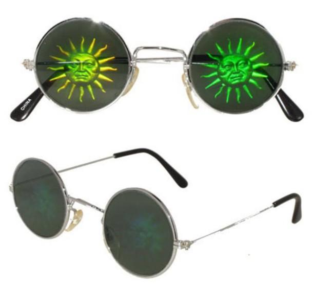 sunglasses sun glasses grunge round glasses