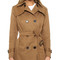 Sincerely jules camille trench coat - almond