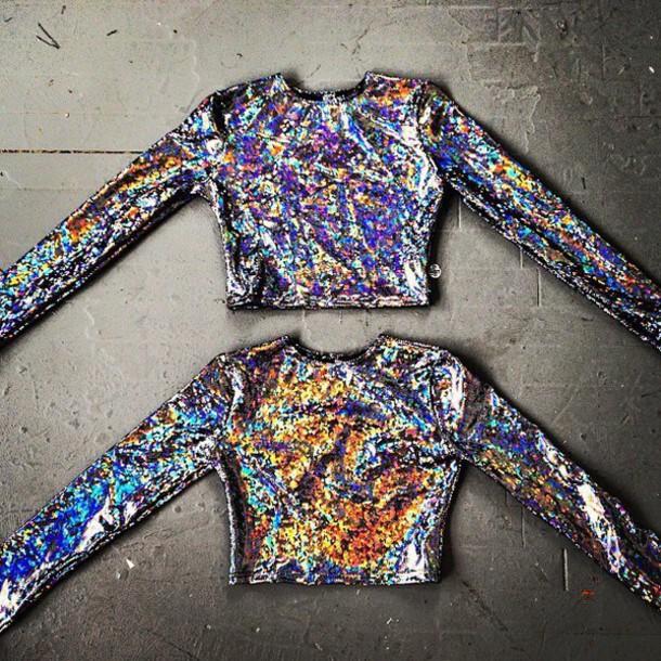 shirt glitter glittery shirt