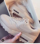 shoes,air max beige,low top sneakers,nike,clothes,nude,cute,nike shoes,tan,gorgeous,nike running shoes,sneakers,nude sneakers,nike sneakers,asap,air max,nike khaki