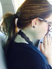 jewels,earrings,studs,grunge,soft grunge,ear plug,black,nails,bralette,lace,ear cuff,dragon,yin yang,hansa,elephant