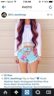 shirt,long sleeves,lace,lace bottom,white