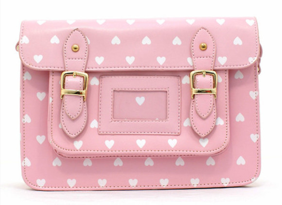 bag purse hearts pink pink purse pink bag heart purse heart bag clutch pastel cute kawaii