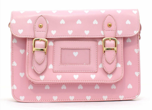 Bag: clutch, purse, heart, pastel, cute, kawaii, pink, kawaii bag ...