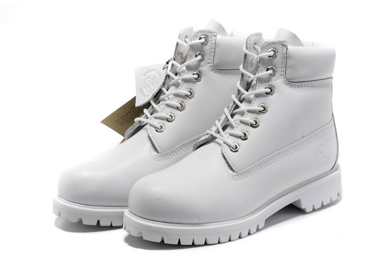 e558b50c4a99a Timberland Mens 6-Inch Premium Waterproof Boots All White