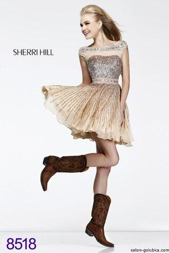 dress sherri hill shoes